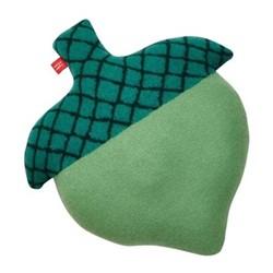 Acorn Cushion, L45 x H35cm, green