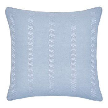 Birch Square cushion, 40cm, sky blue