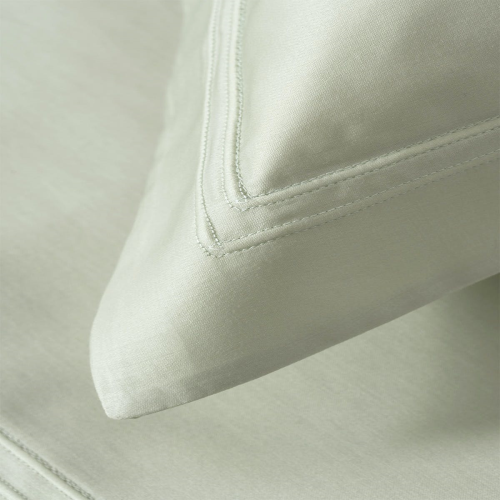 Triomphe - 300 Thread Count Cotton Sateen King duvet cover, 240 x 220cm, Sauge