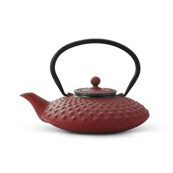 Xilin Teapot, 0.8 Litres, red
