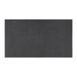 Cotton Bath mat, 50 x 90cm, Charcoal