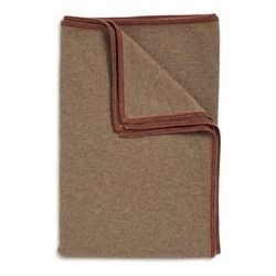 Toscani Throw, 180 x 120cm, taupe