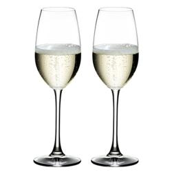 Ouverture Pair of Champagne glasses, H21.7 x D6.6cm - 26cl