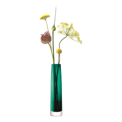 Stems Vase, H30cm, marine green