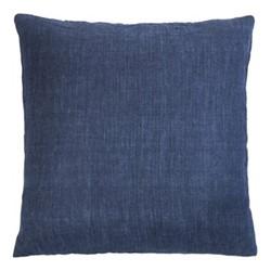 Luxury Light Cushion, 50 x 50cm, navy blue