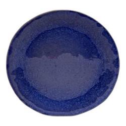 Sausalito Set of 4 dinner plates, 27cm, blue
