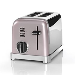 Style Collection CPT160PU 2 Slice toaster, vintage rose