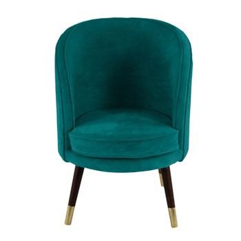 Velvet chair H95 x W65 x D65cm