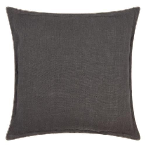 Brero Lino Cushion, H45 x W45cm, Cocoa