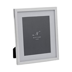 """Newton Photo frame, 6 x 8"""", silver plated"""