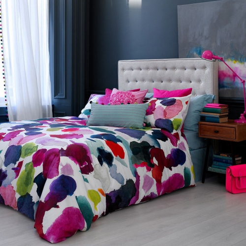 Abstract King size duvet cover set, L220 x W230cm