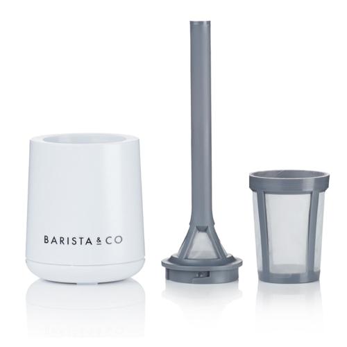 Brew It Stick Coffee and tea infuser, L6.4 x W6.4 x H20cm, Light Grey