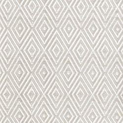 Diamond Polypropylene indoor/outdoor rug, W91 x L152cm, platinum white