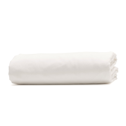 Relaxed Bedding Super king size deep fitted sheet, 180 x 200cm, Snow