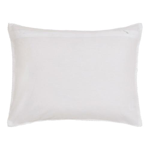 Ebba Cushion, 40 x 30cm, White