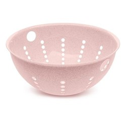 Palsby Large colander, 28cm, organic pink