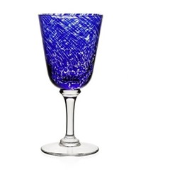 Studio - Vanessa Wine glass, 18cm - 225ml, sicilian blue