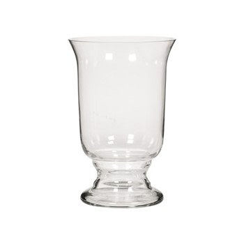 Newington Medium hurricane vase, H32 x D21.2cm, clear