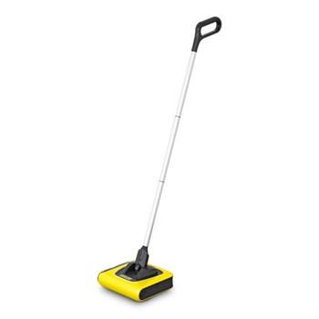 KB5 - Plus Cordless electric sweeper, H112 x W23 x D21.5cm, yellow & black