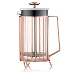 Corral 8 cup coffee press, copper