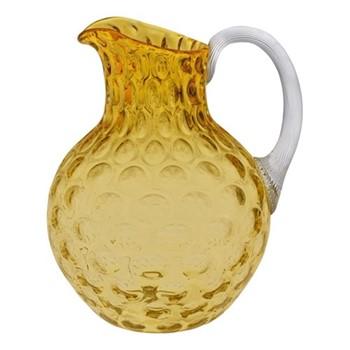 Olive Jug, 2 Litre, amber