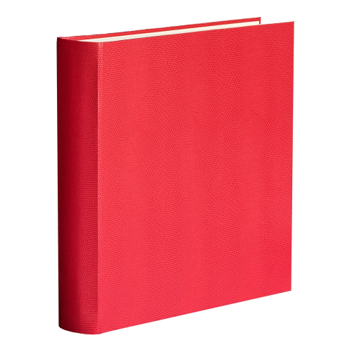 Oyster Bay Square 70 page album, L36 x W36cm, Red Lizard Print
