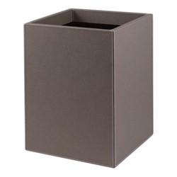 Walter Wastepaper bin, 19 x 22 x H29cm, moka