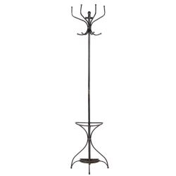 Wall mounted coat stand, 19.7 x 48 x 26cm