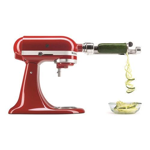 Spiralizer with peel, core and Slice (4 blades)