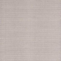 Herringbone Woven cotton rug, W61 x L91cm, dove grey