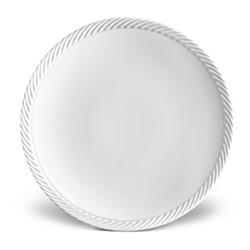 Corde Dinner plate, 27cm, white