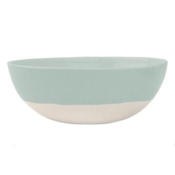 Shell Bisque Round serving bowl, 25.4 x 7.6cm, mist