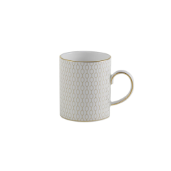 Arris Espresso cup, White With Gold Band
