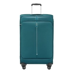 Popsoda Spinner expandable suitcase, 78 x 48 x 31/34cm, teal