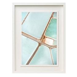 Salts II by Tommy Clarke Framed fine art photographic print, H57 x W43 x D3.3cm, white frame