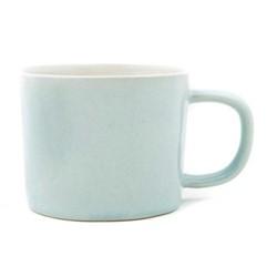 Set of 4 mugs, L8 x D11.5 x H6.5cm, pale blue