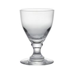 Round-Based Set of 4 large wine glasses, D9 x H14cm