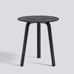 Bella Side table, H49 x W45 x D45cm, black