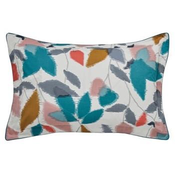 Akira Oxford pillowcase, L48 x W74cm, teal