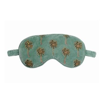 Kenya Collection - African Palmier Eye mask , 21 x 10cm, khaki