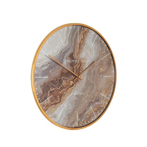 Oyster Wall clock, Dia40cm, Bronze