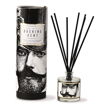 Dashing Gent Luxury reed diffuser, H7.9 x Dia6.9cm