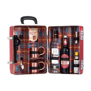 Ginger Mule Cocktail case, L28 x D20 x H38cm - 1050cl, red