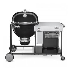 Summit Charcoal grilling center, H121.2 x W144 x D89cm, black