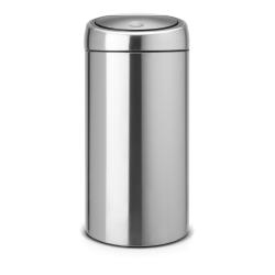 Recycle Touch bin, 2 x 20L, Matt Steel