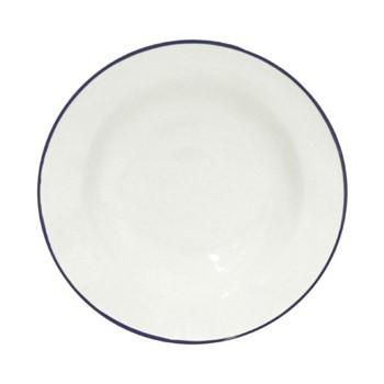 Beja Set of 6 soup plates, 21cm, white