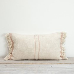 Andas Cushion, 30 x 50cm, shell stripe