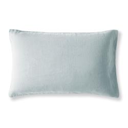 Housewife Pillowcase, 30 x 40cm, Moustier Duck Egg