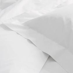 300 Thread Count Egyptian Cotton Sateen Housewife pillowcase, 50 x 90cm, white