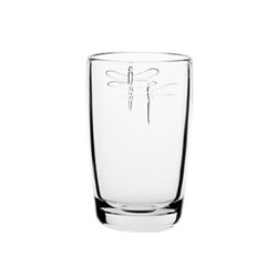 Dragonfly Set of 6 long drink glasses, 40cl, clear